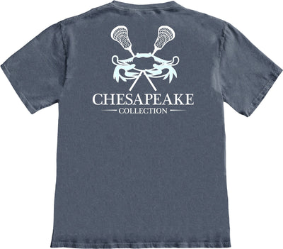 Carolina Crab LAX T-shirt - Chesapeake Collection