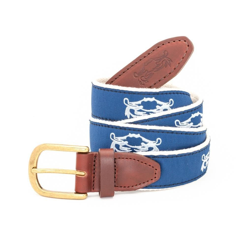 Classic Crab Belt - Chesapeake Collection