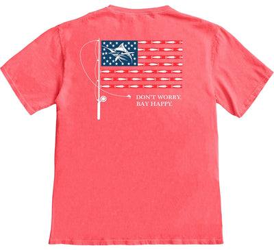 Marlin Flag T-shirt - Chesapeake Collection