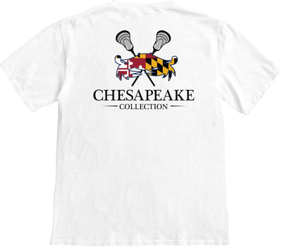 Maryland LAX Crab T-shirt - Chesapeake Collection