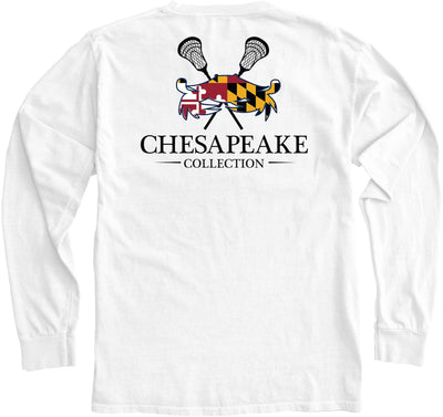 MD LAX Crab Long Sleeve - Chesapeake Collection