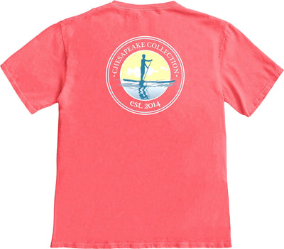 Paddle Boarder T-shirt - Chesapeake Collection