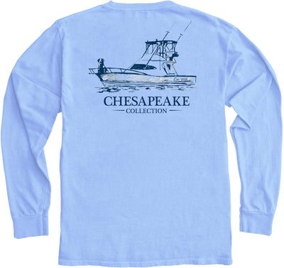 The Boat Guide Long Sleeve - Chesapeake Collection