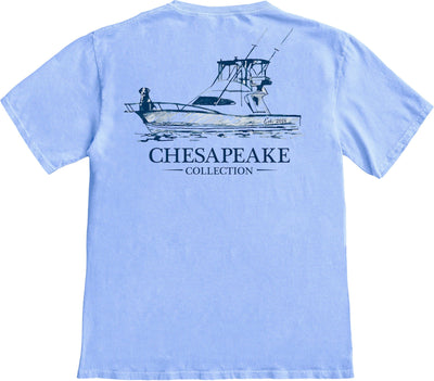 The Boat Guide T-shirt - Chesapeake Collection