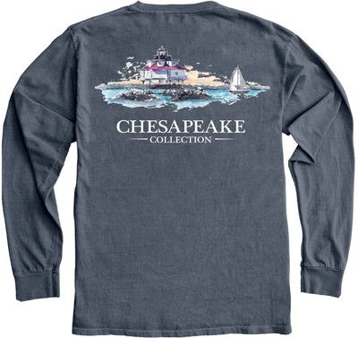 Thomas Point Shoal Lighthouse LS - Chesapeake Collection