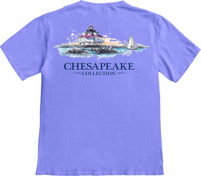 Thomas Point Shoal Lighthouse T-shirt - Chesapeake Collection