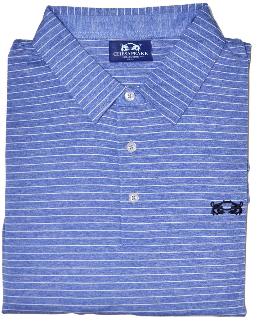 Tilghman Island Performance Polo - Chesapeake Collection