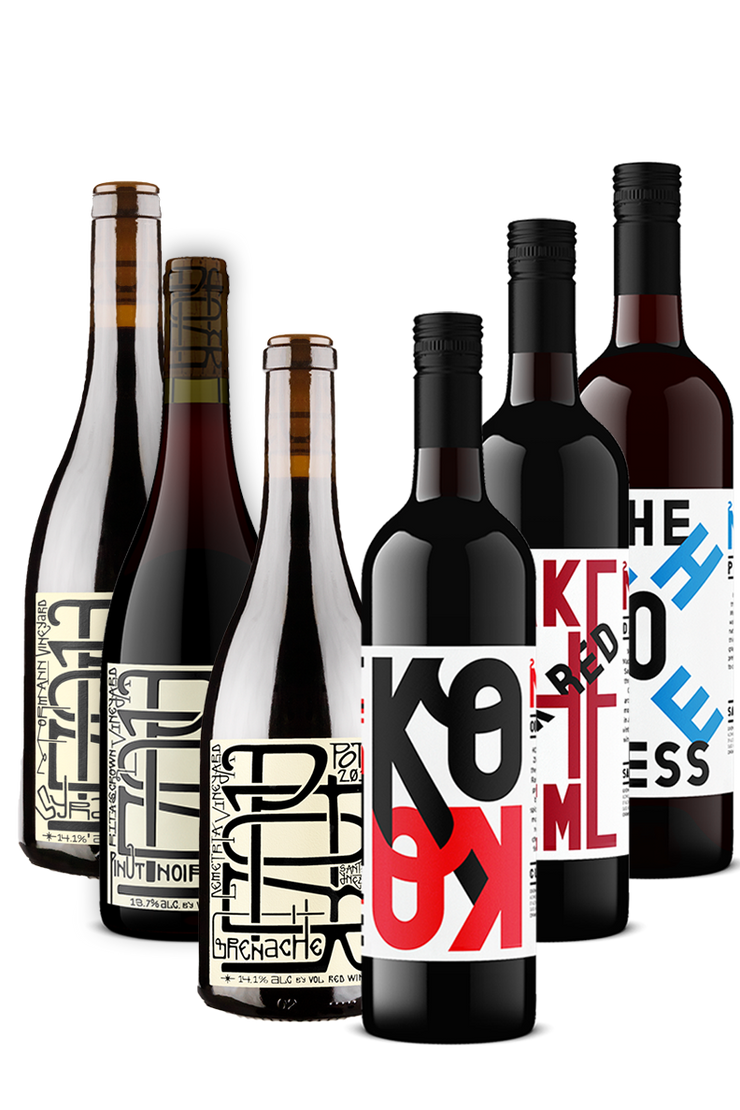Hearty Winter Reds 6 Pack