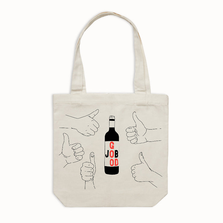 Good Job Wine Tote