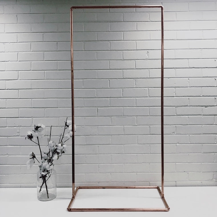 COPPER SIGN STAND