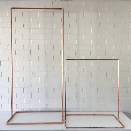 COPPER SIGN STAND - BUNDLE