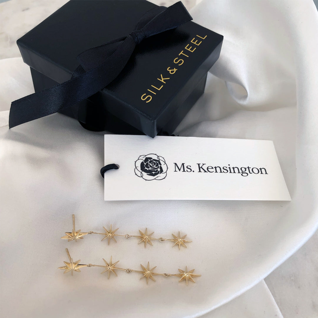 Ms. Kensington x Silk & Steel Jewellery