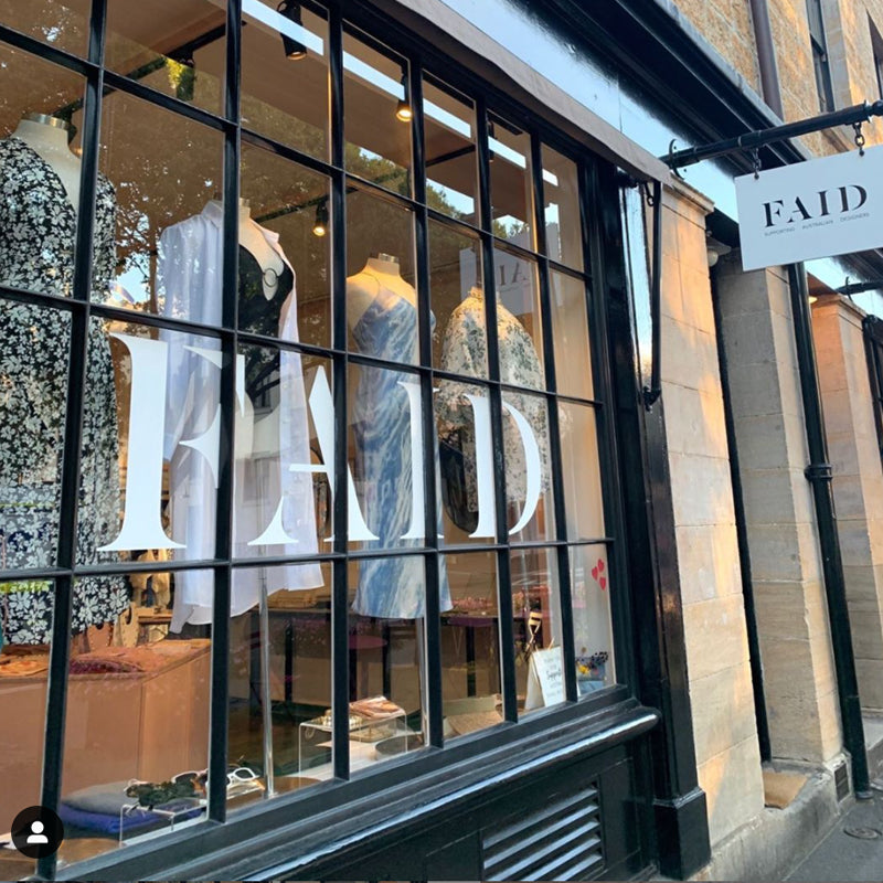 FAID shopfront window in the Rocks