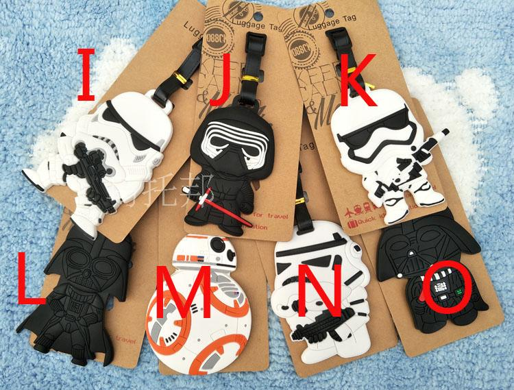 Star Wars Luggage Tags