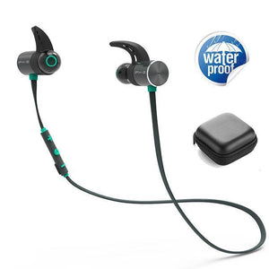 Plextone BX343 Wireless Headphone Bluetooth IPX5 Waterproof Earbuds