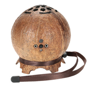 Coconut Shell Super Bass Stereo with Built-in Microphone Mic