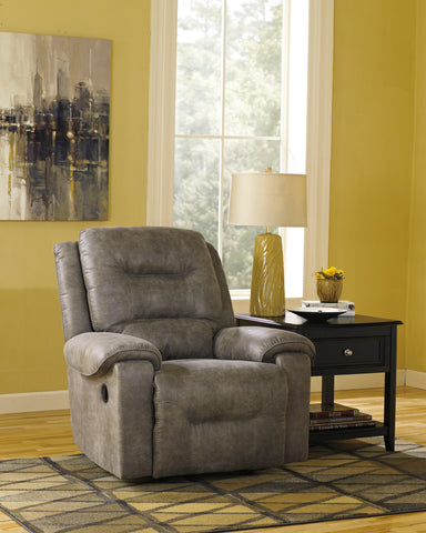Fauteuil inclinable Ashley Rotation Smoke