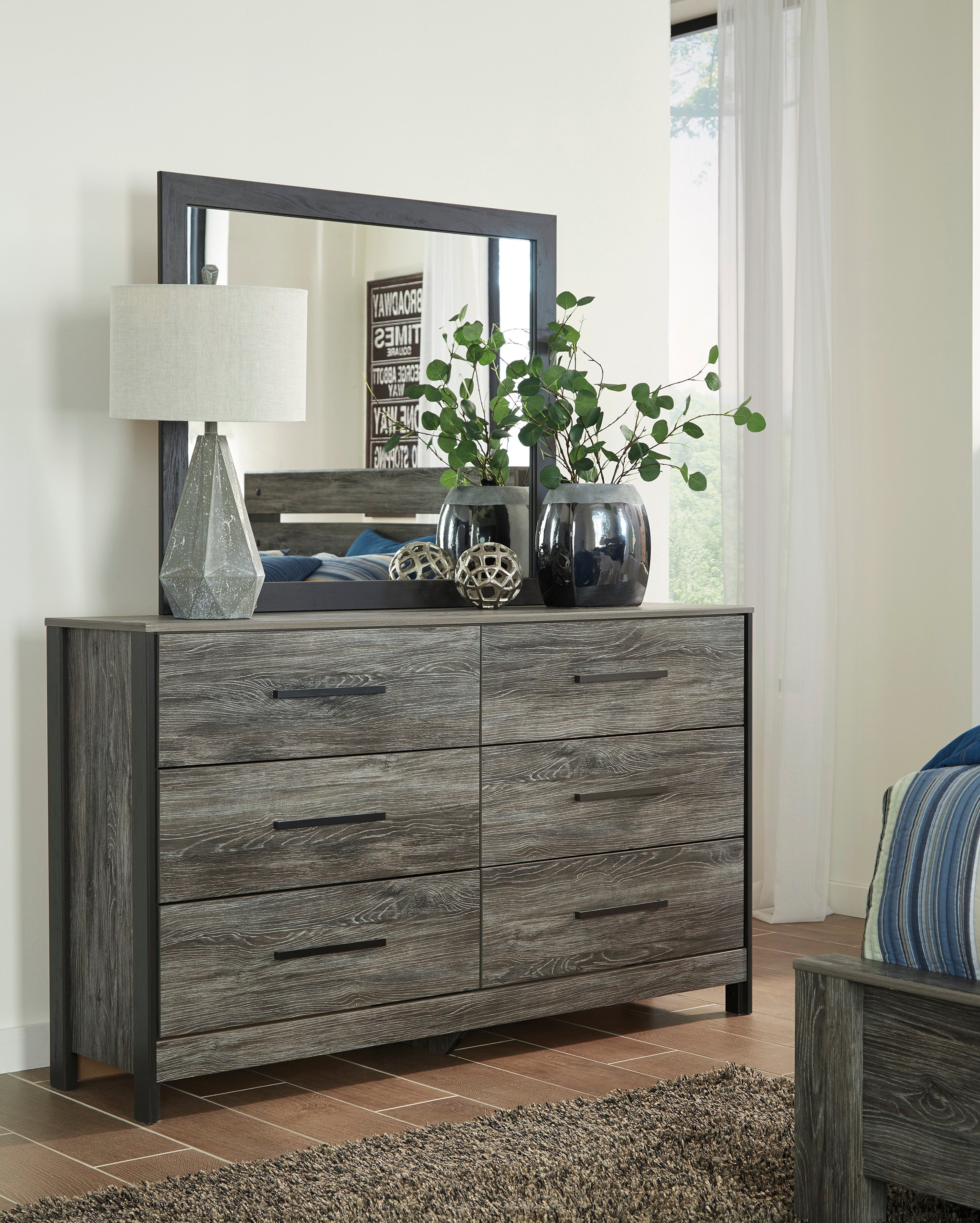 Mobilier de chambre Ashley Cazenfeld Black/Gray | Meubles Dupuis & Fils Inc