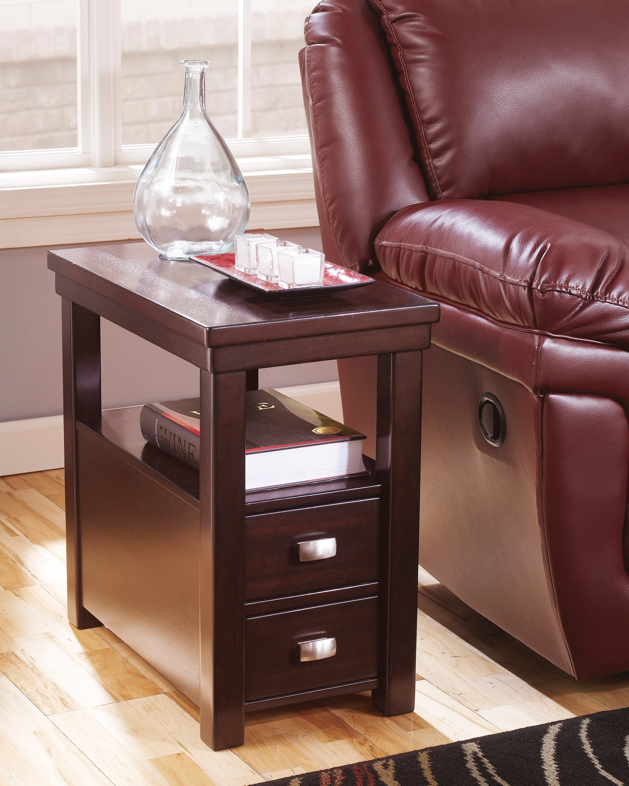 Table de bout Ashley petite Hatsuko Dark Brown