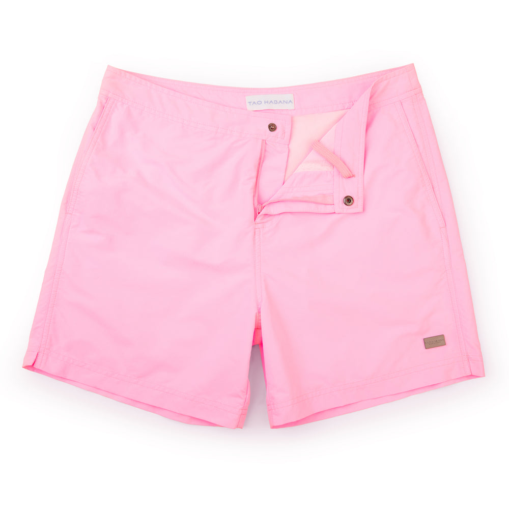 Bossa Swim Short | Candy Pink
