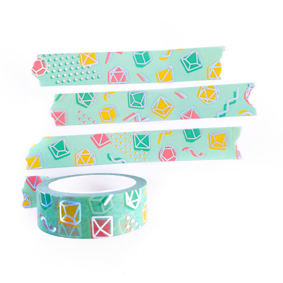 90s Dice Washi Tape - Paola's Pixels