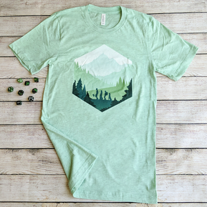 Adventure d20 Shirt - Paola's Pixels