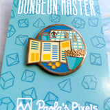 Game Master Enamel Pin