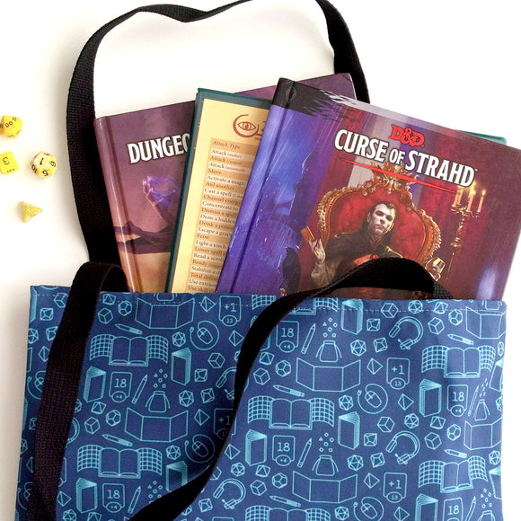 Game Master Tote Bag - Paola's Pixels