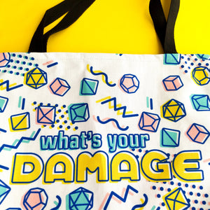 What's Your Damage Tote Bag - Paola's Pixels