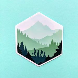 d20 Adventure Sticker
