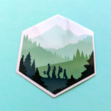 d20 Adventure Sticker - Paola's Pixels