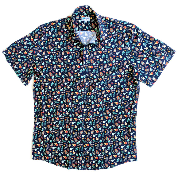 Alchemist Unisex Button Up - Paola's Pixels