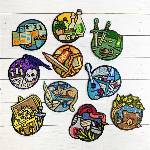 Adventurer Day Jobs Patches - Paola's Pixels