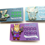 The whole Animal Party Pin collection - Paola's Pixels