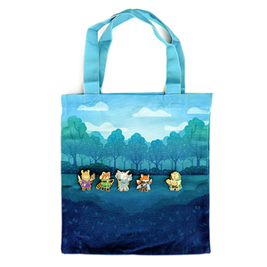 Animal Party Tote Bag - Paola's Pixels