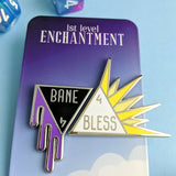 Bane and Bless Enamel Pin Set - Paola's Pixels