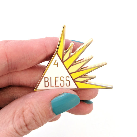 Seconds sale! Bane and Bless Enamel Pin Set