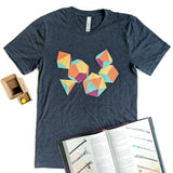 Colorful Dice Shirt - Paola's Pixels