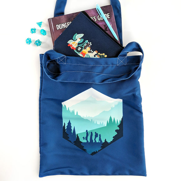 d20 Adventure Tote Bag - Paola's Pixels