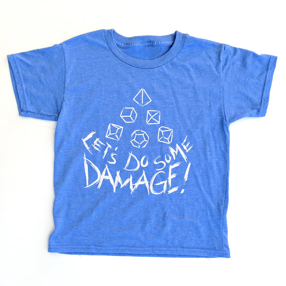 Let's Do Some Damage Toddler Shirt - Paola's Pixels