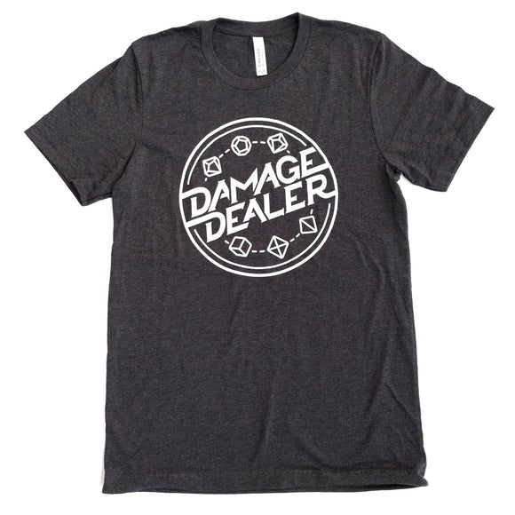 Damage Dealer Icon Shirt - Paola's Pixels