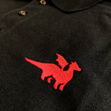 Red Dragon Premium Polo - Paola's Pixels