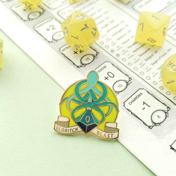 Eldritch Blast Enamel Pin
