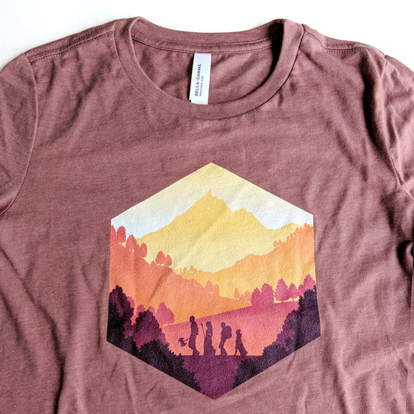 Fall Adventure d20 Women's Shirt - Paola's Pixels