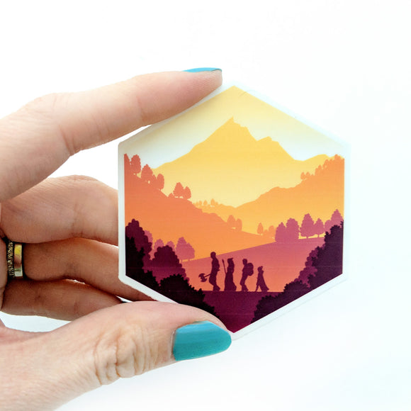 Seconds sale! d20 Fall Adventure Sticker - Paola's Pixels