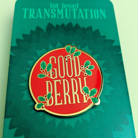 Goodberry Enamel Pin