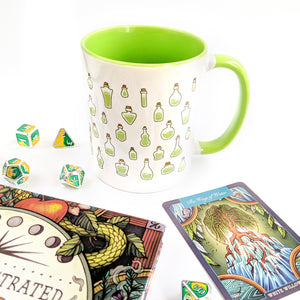 Green Poison Vials Mug