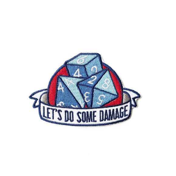 Let's Do Some Damage Patch-Paola's Pixels