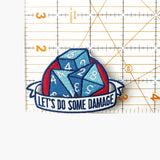 Let's Do Some Damage Patch - Paola's Pixels