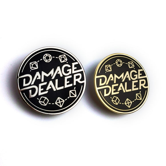 Damage Dealer Pin - Paola's Pixels